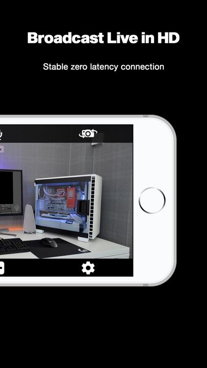 OBCam - Device as HD Webcam screenshot-4