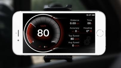 Screenshot for GPS Digital Speed Tracker Pro in Canada App Store