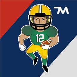 U.S. Football Stickers