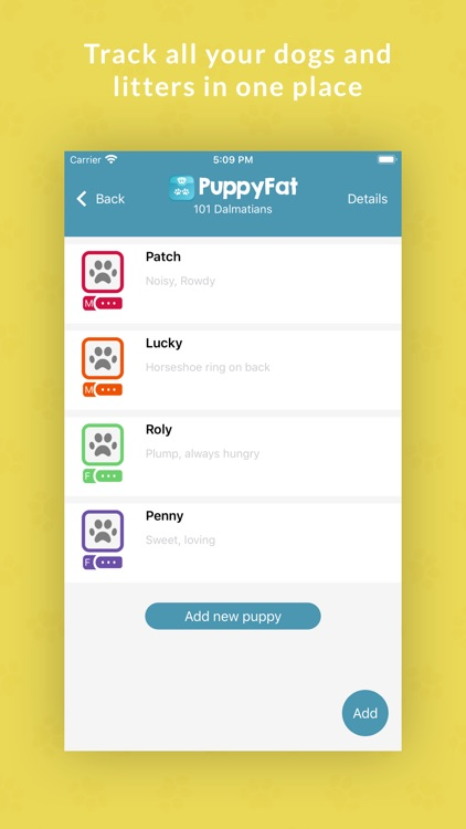 PuppyFat - Breeder Software screenshot-1