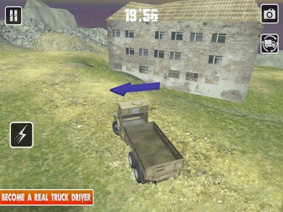 Truck Driver:OffRoad Cargo Sim screenshot #1