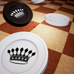 Checkers - Online board games