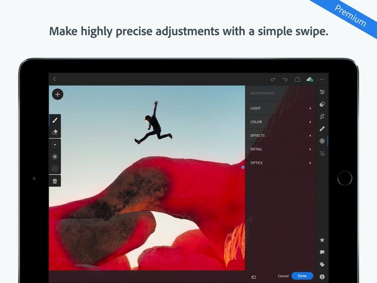 Adobe Lightroom CC for iPad screenshot-4