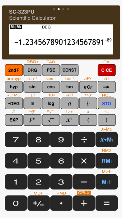 Scientific Calculator Sc 323pu review screenshots