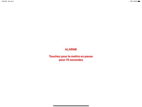 Anchor! alarme de mouillage