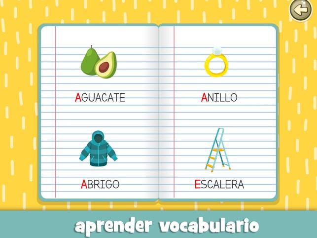 Las vocales para niños español