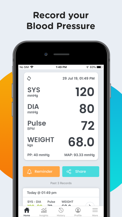 messages.download SmartBP - Smart Blood Pressure software