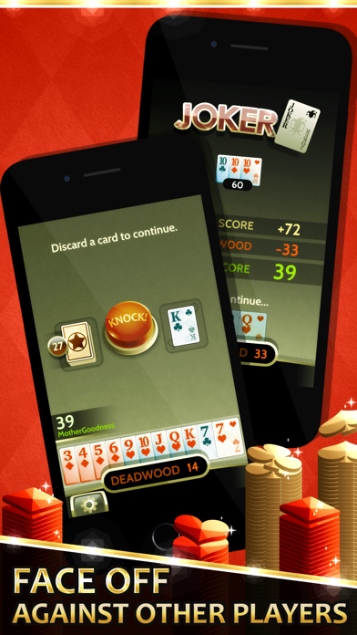 Gin Solitaire screenshot two