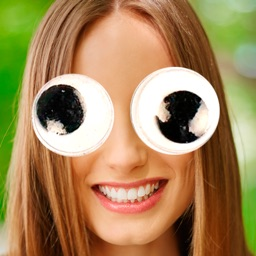 Googly eyes editor sticker