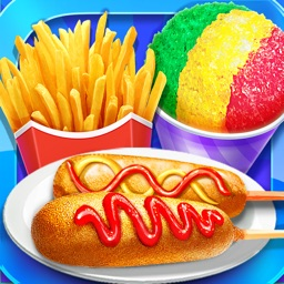 Carnival Fair Food- Food Stand