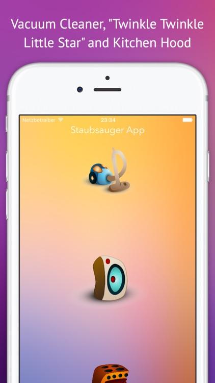 Vacuum Cleaner Baby Sleep App screenshot-3
