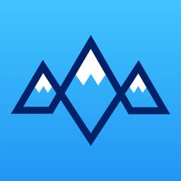 Ícone do app snoww: rastreador de esqui