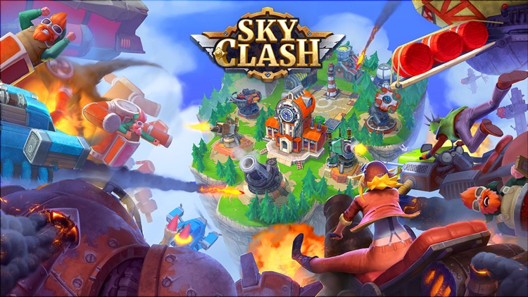 Sky Clash: Lords of Clans 3D screenshot-4