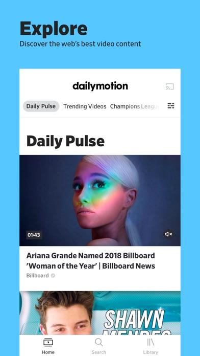 dailymotion ScreenShot0