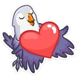 BirdsLove-Emoij