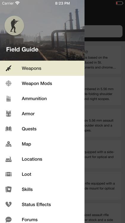 Field Guide for Tarkov