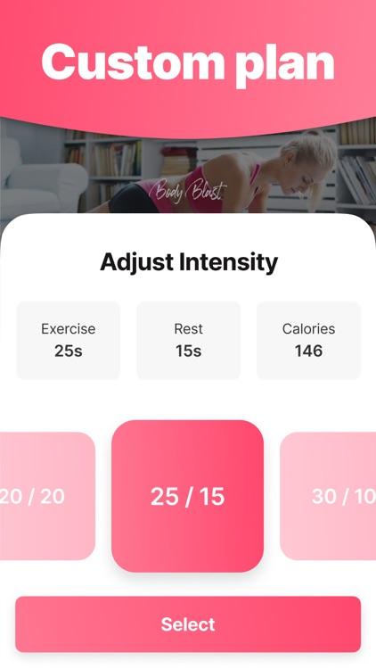 WeBurn - Women Fitness At Home screenshot-5