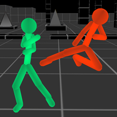 Stickman Fight: Neon Warriors