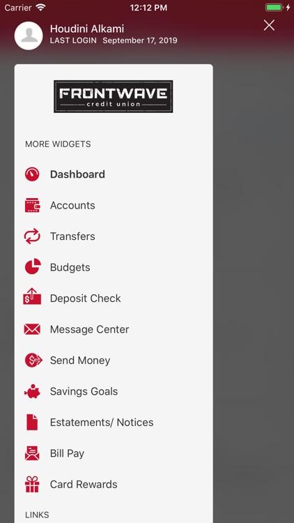 Frontwave Mobile Banking