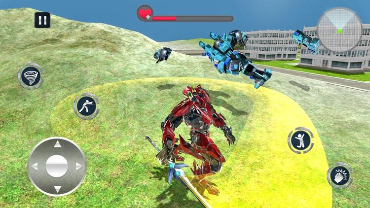 Tornado Robot Transforming War screenshot-3