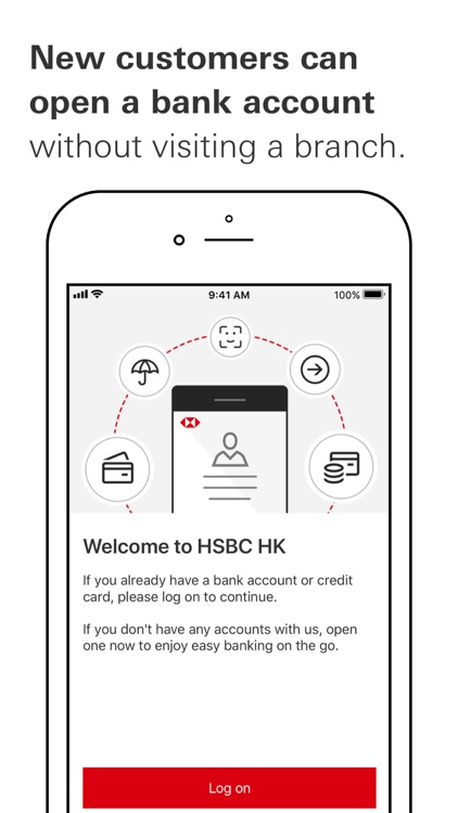 HSBC HK Mobile Banking screenshot-2