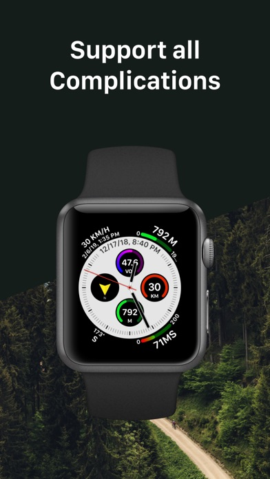 Screenshot for Watch Altimeter Pro in United States App Store