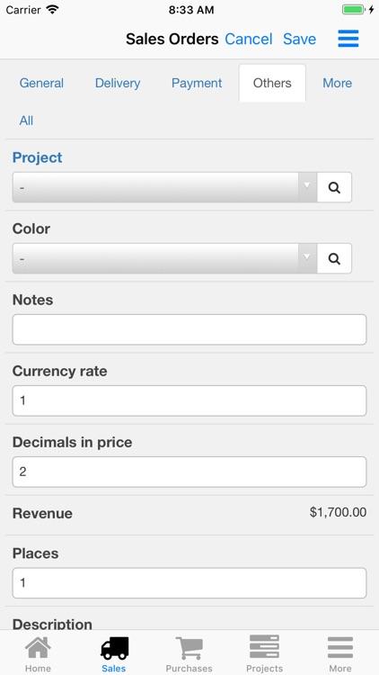 Nano Sales Manager screenshot-4