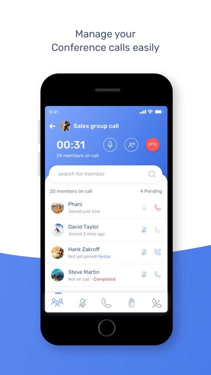 grptalk|Audio Conference Calls screenshot-3
