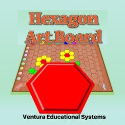 Hexagon Art Board
