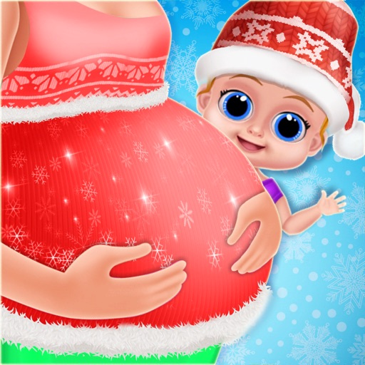 Christmas Mommy & Baby Twins