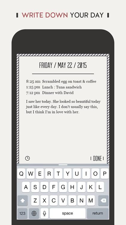 DayGram - One line a day diary screenshot-4