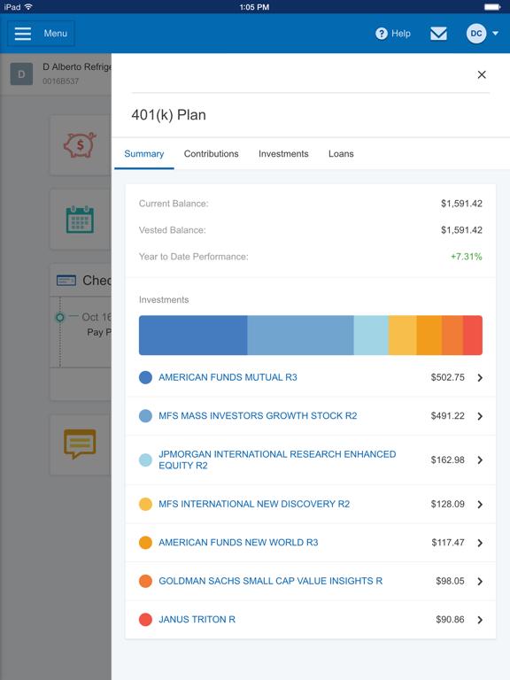 Paychex Flex screenshot