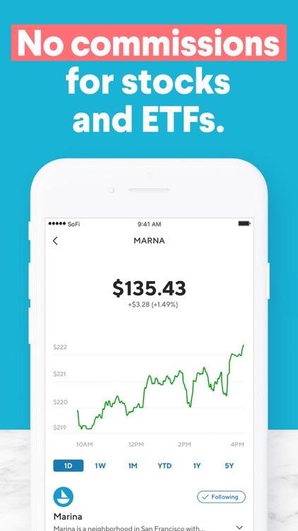 SoFi: Invest and Track Money screenshot-3