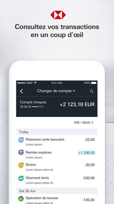 download HSBC France apps 1