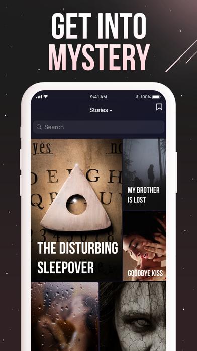 Thrill: Text Stories Screenshot