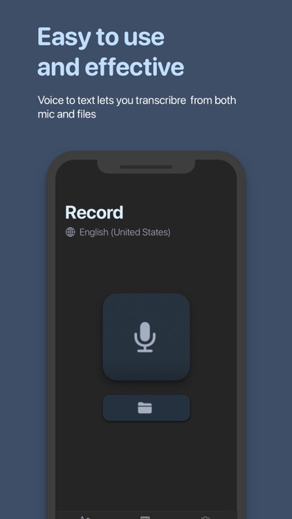 Voice to Text Pro - Transcribe screenshot-3