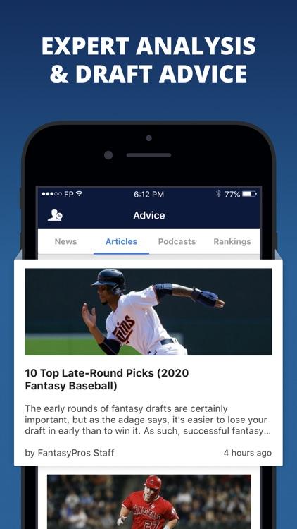 Fantasy Baseball Draft Wizard screenshot-8