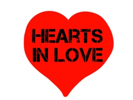 Hearts in love!