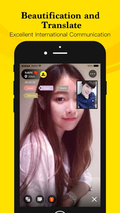 WhenChat-Video chat nearby screenshot-3