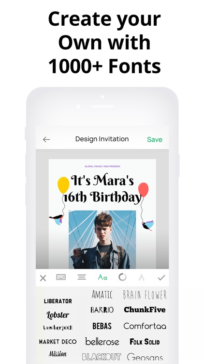 Invitation Maker- Make Invites screenshot-4