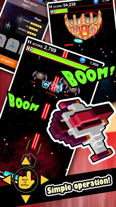 Screenshot for Galaxy Saga - Classic Shooter in United States App Store