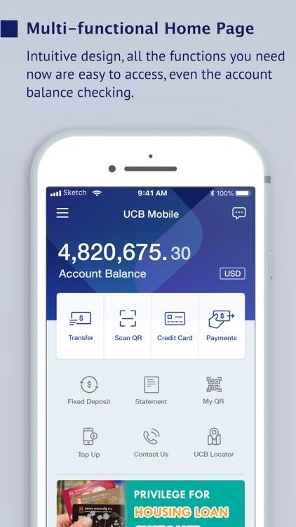 UCB e-Banking KH screenshot-3