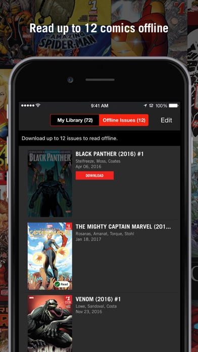 Screenshot for Marvel Unlimited in United States App Store
