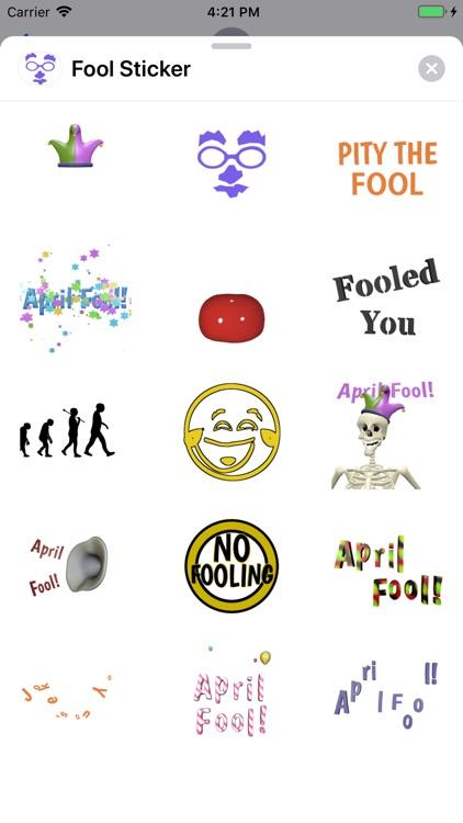 Fool Sticker