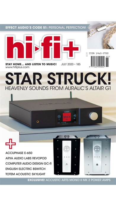 Hi-Fi Plus Magazine screenshot one