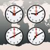 世界時計, 目覚まし時計, 時間帯 Ult...