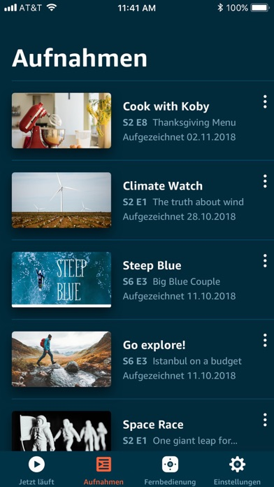 Screenshot for Amazon Fire TV in Germany App Store