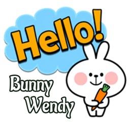 Bunny Wendy Stickers