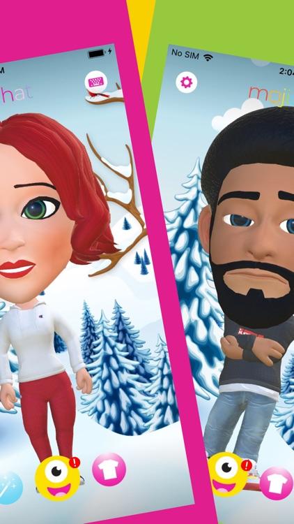 Mojichat: Animated 3D Emojis screenshot-3