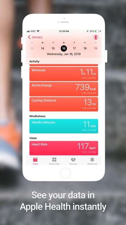 Peloton Sync for Apple Health